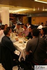 Lunch at the 2007 European Internet Dating Conference in Barcelona Spain