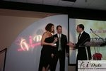 Match.com receiving Best Dating Site Award at the 2010 Miami iDate Awards Ceremony