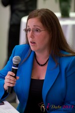 Mae Flexer (Representative from Connecticut) discussing Online Dating Legislation at iDate2011 Los Angeles