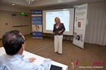 Julie Ferman (CEO of Cupid 's Coach) at the June 22-24, 2011 Dating Industry Conference in Los Angeles