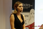 Oksana Reutova (Head of Affiliates at UpForIt Networks) at the September 10-11, 2012 Koln European Union Online and Mobile Dating Industry Conference
