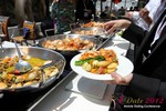 Lunch at the June 20-22, 2012 Mobile Dating Industry Conference in Los Angeles