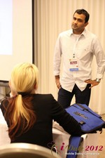 Dwipal Desai (CEO of TheIceBreak.com) covers monetization during a relationship at the 2012 Internet and Mobile Dating Industry Conference in California