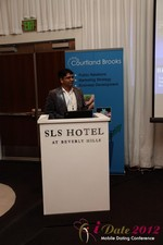 Santanu Basu (Sr Product Manager at Bing) at the June 20-22, 2012 Mobile Dating Industry Conference in Los Angeles