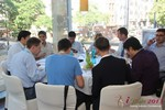 Lunch at the September 16-17, 2013 Mobile and Internet Dating Industry Conference in Germany