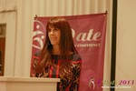 Julie Spira - CEO of CyberDatingExpert.com at the June 5-7, 2013 Mobile Dating Industry Conference in L.A.