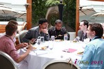 Lunch at the June 5-7, 2013 L.A. Online and Mobile Dating Industry Conference