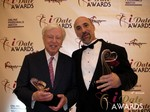 Dr. Warren & Paul Falzone in Las Vegas at the 2013 Online Dating Industry Awards