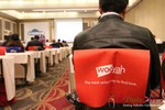 Wooyah (Chair Cover Sponsor) at the January 16-19, 2013 Las Vegas Online Dating Industry Super Conference