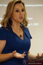 Rachel DeAlto (The Flirt Expert) at the 2013 Internet Dating Super Conference in Las Vegas
