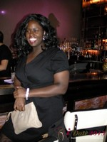 Charreah Jackson (Essence Magazine) at the Shadow Bar Party at Las Vegas iDate2013