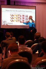 Axel Vezina, Chief Analytics Officer For Crak Media On Best Strategies For Mobile Dating Conversions  at the June 4-6, 2014 Beverly Hills Online and Mobile Dating Business Conference