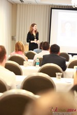 Jill James, COO of Three Day Rule Seminar On Partnership Models For Dating Leads To Online Dating at the 2014 Online and Mobile Dating Industry Conference in L.A.