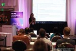 Rosalie Sutherland, Director Of Mobile Marketing at AnastasiaDate Discussing Mobile Dating Conversions  at iDate2014 L.A.