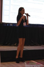 Rosalie Sutherland Of AnastasiaDate Speaking On Mobile Dating Conversions  at the 38th Mobile Dating Industry Conference in L.A.