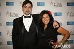Arthur Malov & Damona Hoffman  in Las Vegas at the January 15, 2014 Internet Dating Industry Awards