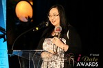 Michelle Li of Successful Match (Winner of the DatingWebsiteReview.net Award for Best New Feature) at the 2014 iDate Awards Ceremony