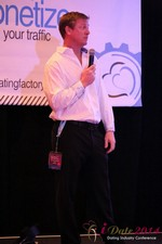 Dr. Jeff Collier - CEO of MateSafe at the 37th International Dating Industry Convention