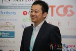CFO of Jiayuan at iDate at the 2014 Las Vegas Digital Dating Conference and Internet Dating Industry Event