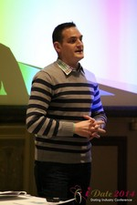 Israel Irenstein - IDCA Program Director at the January 14-16, 2014 Las Vegas Online Dating Industry Super Conference