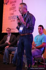 Jeff Reichard - CEO of Aclispa at the January 14-16, 2014 Las Vegas Internet Dating Super Conference
