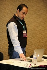 Oscar Estupian - Vice President @ Mentis Dating at the January 14-16, 2014 Las Vegas Online Dating Industry Super Conference
