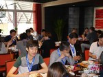 Lunch at the 2015 Beijing China Mobile and Internet Dating Expo and Convention