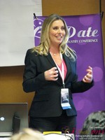 Author Laurel House - Speaking on Womens Empowerment and Online Dating at Las Vegas iDate2015