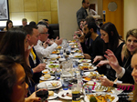 Lunch Among European And Global Dating Industry Executives   at the 2015 London United Kingdom Mobile and Internet Dating Expo and Convention