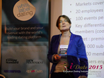Pauline Tourneur General Manager Of Attractive World Speaking On The French Online And Mobile Dating Market  at the October 14-16, 2015 conference and expo for online dating and matchmaking in London