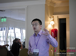 Shang Hsui Koo(CFO, Jiayuan)  at the 38th Mobile Dating Negócio Conference in Los Angeles