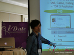 Takuya Iwamoto (Diverse-yyc-co-jp)  at the 2016 Online and Mobile Dating Indústria Conference in L.A.
